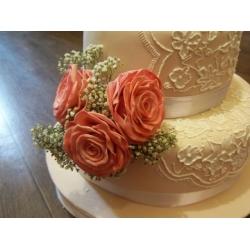 Свадебный торт 4: заказать, доставка