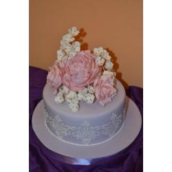 Свадебный торт 2: заказать, доставка