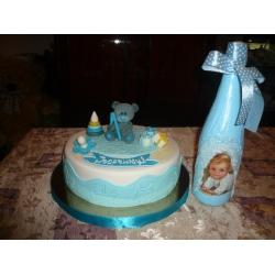 Детский торт 8