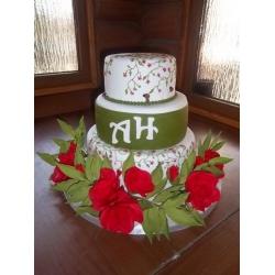Свадебный торт 5: заказать, доставка