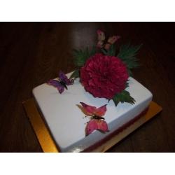 Свадебный торт 17: заказать, доставка