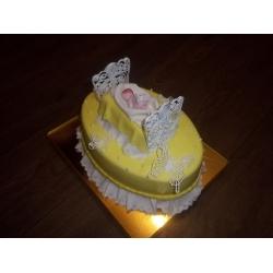Торт на крестины 1