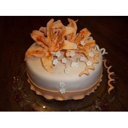 Праздничный и юбилейный торт 34