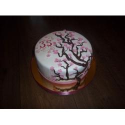 Праздничный и юбилейный торт 32