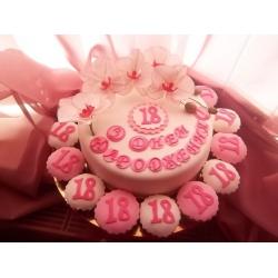 Праздничный и юбилейный торт 7