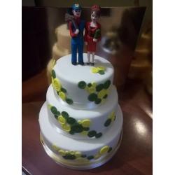 Свадебный торт 10: заказать, доставка