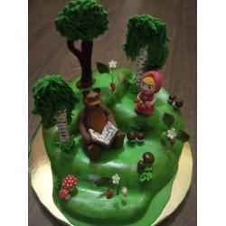 Детский торт 14