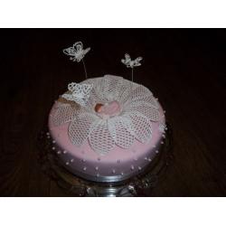 Торт на крестины 5