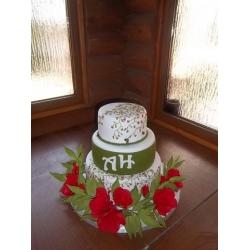 Свадебный торт 6: заказать, доставка