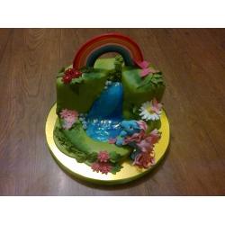 Детский торт 9