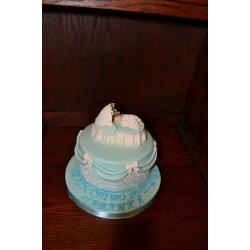 Торт на крестины 4