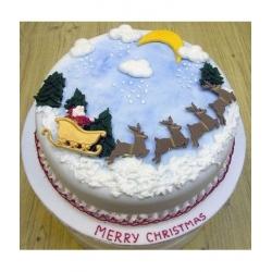 Торт Щасливого Різдва