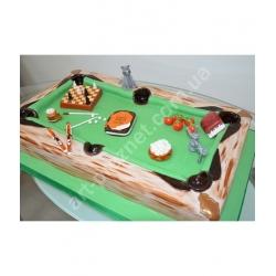 Торт більярдний стіл(2): заказать, доставка