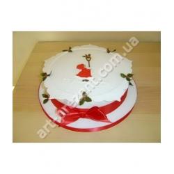 Торт новорічний 11