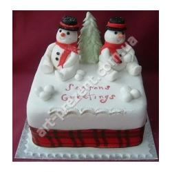 Торт новорічний 14