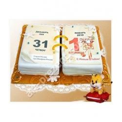 Торт новорічний 8