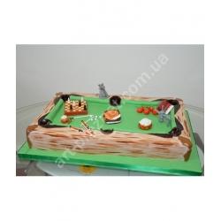 Торт більярдний стіл: заказать, доставка