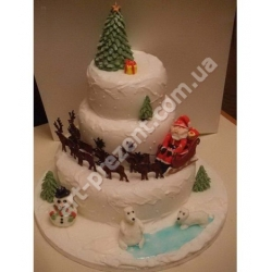 Торт новорічний 10