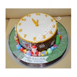 Торт новорічний 23