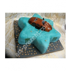 Торт з машинкою
