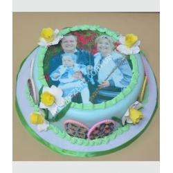 Торт великодній