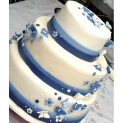 торт весільний 17