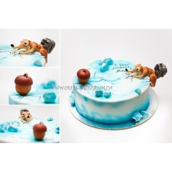 Торт детский №43