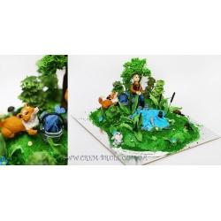Торт на рыбалке