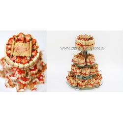 Торт свадебный №38: заказать, доставка