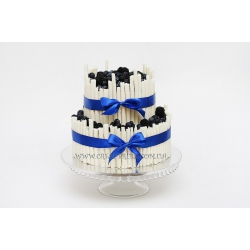Торт свадебный №51