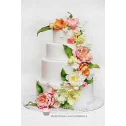 Торт свадебный №13