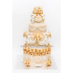 Торт свадебный №22: заказать, доставка