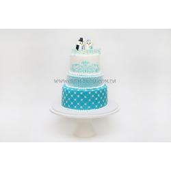 Торт свадебный №17: заказать, доставка