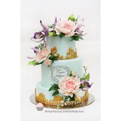 Торт юбилейный №19