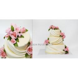 Торт свадебный №40: заказать, доставка