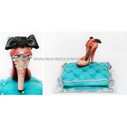 торт туфелька Gucci