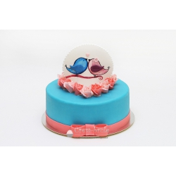 Торт юбилейный №14