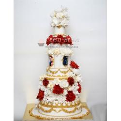 Торт свадебный №24: заказать, доставка