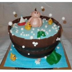 Детский торт Купание