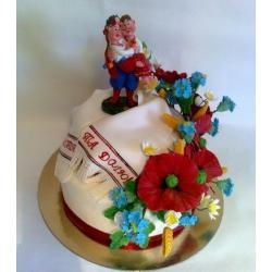 Свадебный торт в украинском стиле: заказать, доставка