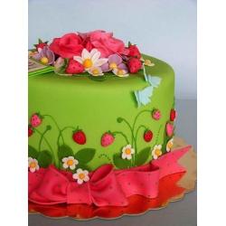 Свадебный торт Земляника: заказать, доставка