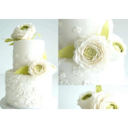Свадебный торт Ранункулюсы: заказать, доставка