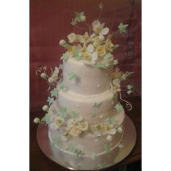 Свадебный торт Весенняя капель: заказать, доставка
