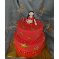 Торт Девушка из торта