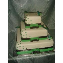 Свадебный торт Баттерфляй: заказать, доставка