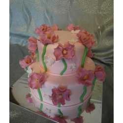 Свадебный торт Поле маков: заказать, доставка