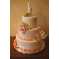 Свадебный торт Абрикос: заказать, доставка