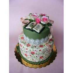 Свадебный торт Винтаж: заказать, доставка