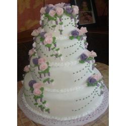 Свадебный торт Морской прибой: заказать, доставка