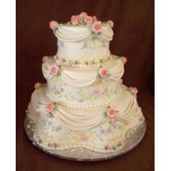 Свадебный торт Валентина: заказать, доставка